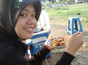 Makan Siomay